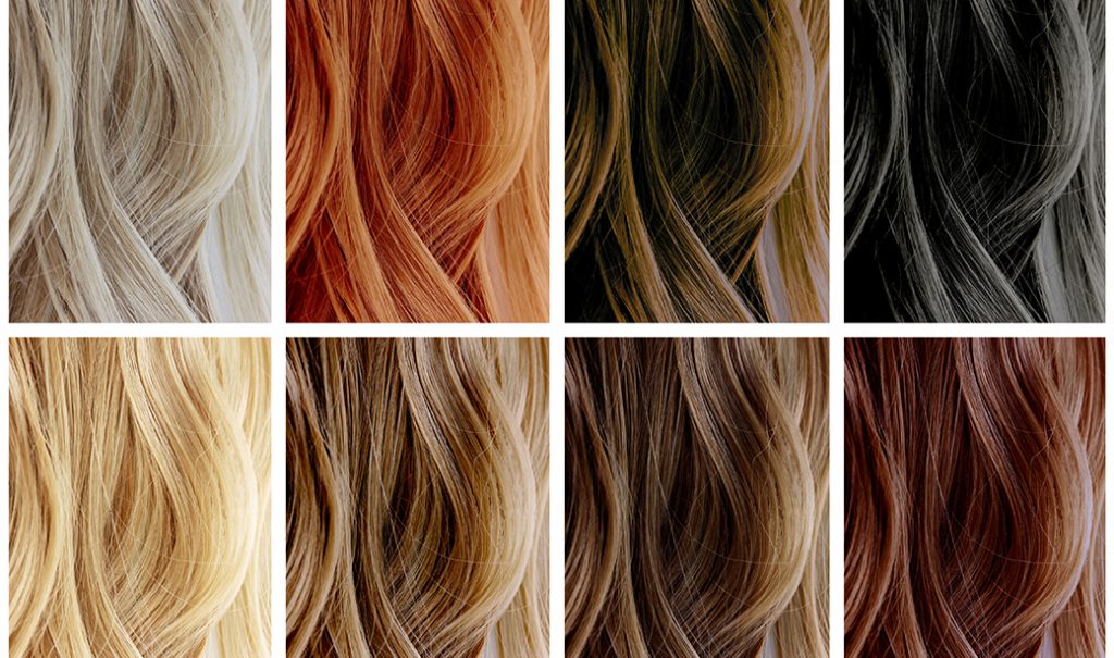 many colors of hair extensions