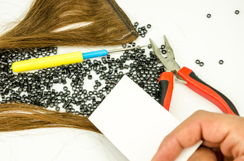 tools to apply micro ring hair extensions